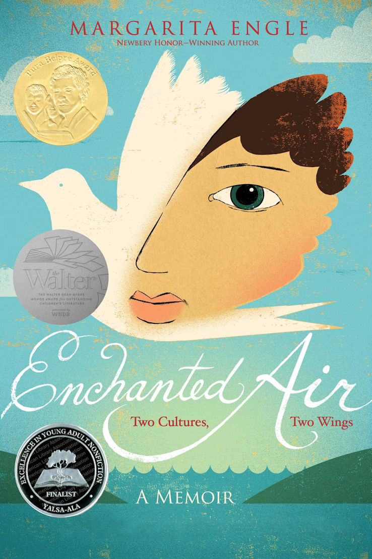 Enchanted Air book review - author, Margarita Engle - A Cuban-American girl's experience of the Cold War
